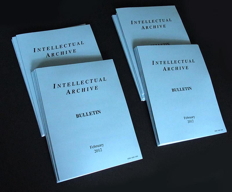 IntellectualArchive Bulletins